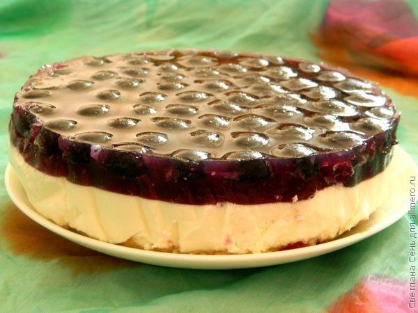 Кекс с вишнейы фото