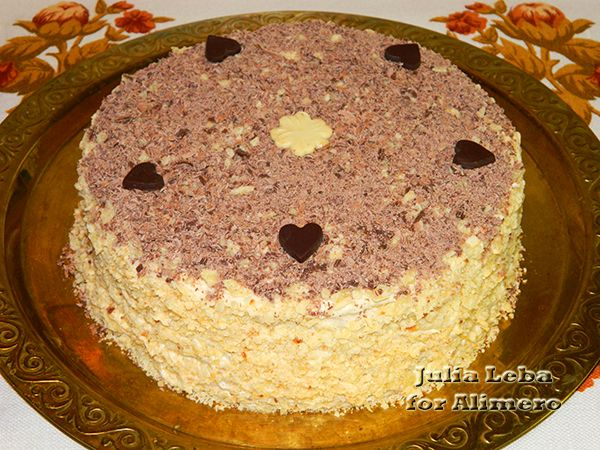 Как делать творожный торт